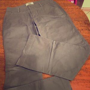Old navy gray khakis